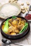 Kare-kare, philippinisches Ochsenschwanzeintopfgericht Lizenzfreie Stockfotografie