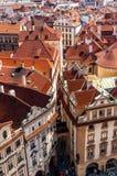 kareciany Czech rysujący koński stary Prague republiki kwadrata miasteczko Zdjęcie Royalty Free