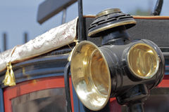 Kareciany lampion Zdjęcie Stock