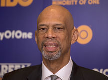 Kareem Abdul-Jabbar Royalty Free Stock Photo