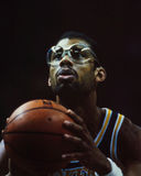 Kareem Abdul-Jabbar, LA Lakers Photographie stock libre de droits