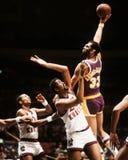 Kareem Abdul-Jabbar Los Angeles Lakers Royaltyfri Foto