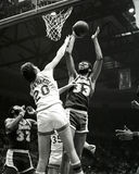 Kareem Abdul-Jabbar, Los Angeles Lakers. Royalty Free Stock Images