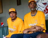 Kareem Abdul-Jabbar Robinson i Smokey fotografia stock