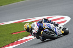 Karel Abraham, moto gp 2014 Royalty-vrije Stock Fotografie