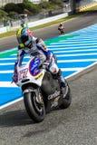 Karel Abraham pilot of MotoGP Royalty Free Stock Images