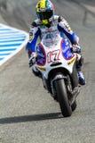 Karel Abraham pilot of MotoGP Stock Image