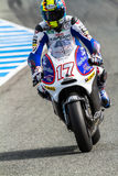 Karel Abraham pilot of MotoGP Stock Photo
