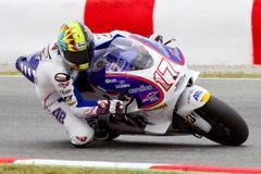 Karel Abraham racing at Catalunya Circuit Stock Image