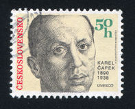 Karel Capek Stock Photography