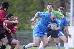 karel opravil rugby bieg zdjęcia stock