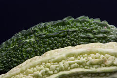 Karela. Also known as bitter gourd or bitter melon Stock Images
