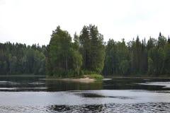 Karelië Stock Foto