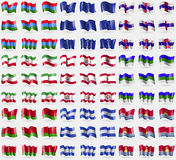 Karelia, Европейский союз, Нидерландские Антильские острова, Иран, Французская Полинезия, Komi, Беларусь, Гондурас, Кирибати Боль Стоковое Фото