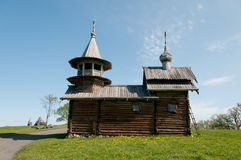 Karelia. Beautiful Kizhi island Stock Photos