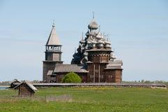 Karelia. Beautiful Kizhi island Royalty Free Stock Images
