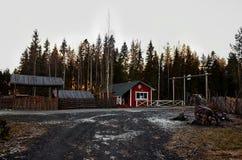 Karelia El antepasado del abuelo carelio Frost Talvi Ukko 14 de noviembre de 2017 Fotos de archivo