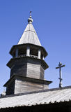 Karelia. Kizhi. A belltower Royalty Free Stock Photos