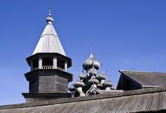 Karelia. Kizhi. Preobrazhenskiy church Royalty Free Stock Photos