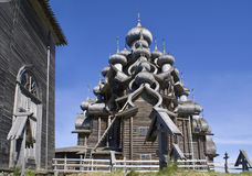 Karelia. Kizhi. Preobrazhenskiy church royalty free stock photo