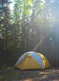 karelia północni Russia namiotu drewna Obraz Stock