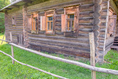 Karelian house (the second half of the XIX century) Royalty Free Stock Photography