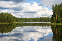Karelian landscape Stock Photo