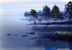 Karelian landscape Stock Image
