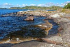 Karelian landscape, Russia Stock Image