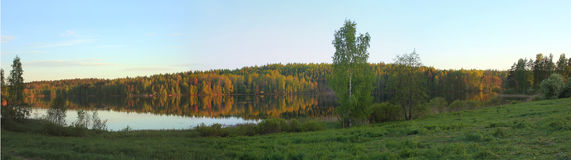 Karelian landscape, Russia Royalty Free Stock Photography