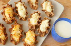 Karelian pasties from Finland Royalty Free Stock Image