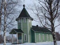 Karelian tempel Fotografering för Bildbyråer