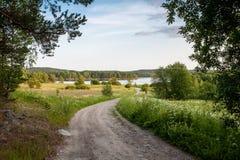 Karelische Straße Stockfoto