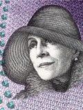 Karen Blixen-portret Royalty-vrije Stock Afbeeldingen