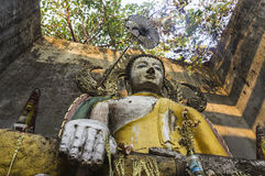 Karen Buddha Statue Stock Photography