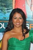 "Karen David. At the American premiere of her new movie ""Couples Retreat"" at Mann's Village Theatre, Westwood. October 5, 2009  Los Angeles, CA Picture: Paul Stock Images"
