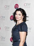 Karen Duffy. NEW YORK, NY - MAY 20: Actress Karen Duffy attends the 2011 Cosmetic Executive Women Beauty Awards at The Waldorf-Astoria Hotel on May 20, 2011 in royalty free stock images