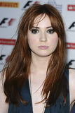 Karen Gillan. Attending the F1 Party, at the Natural History Museum, London. 06/07/2011  Picture by: Steve Vas / Featureflash Royalty Free Stock Photo