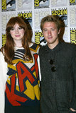 Karen Gillan and Arthur Darvill Royalty Free Stock Photo