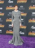 Karen Gillan. At the premiere of Disney and Marvel`s `Avengers: Infinity War` held at the El Capitan Theatre in Hollywood, USA on April 23, 2018 Stock Photo
