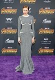 Karen Gillan. At the premiere of Disney and Marvel`s `Avengers: Infinity War` held at the El Capitan Theatre in Hollywood, USA on April 23, 2018 Royalty Free Stock Photos