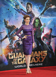 Karen Gillan. LOS ANGELES, CA - JULY 21, 2014: Karen Gillan at the world premiere of her movie Guardians of the Galaxy at the El Capitan Theatre, Hollywood Stock Images