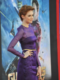 Karen Gillan. LOS ANGELES, CA - JULY 21, 2014: Karen Gillan at the world premiere of her movie Guardians of the Galaxy at the El Capitan Theatre, Hollywood Royalty Free Stock Image