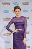 Karen Gillan. LOS ANGELES, CA - JULY 21, 2014: Karen Gillan at the world premiere of her movie Guardians of the Galaxy at the El Capitan Theatre, Hollywood Stock Photo