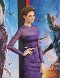 Karen Gillan. LOS ANGELES, CA - JULY 21, 2014: Karen Gillan at the world premiere of her movie Guardians of the Galaxy at the El Capitan Theatre, Hollywood Royalty Free Stock Images