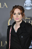 Karen Gillan. LOS ANGELES, CA - MARCH 1, 2015: Karen Gillan at the world premiere of Cinderella at the El Capitan Theatre, Hollywood Royalty Free Stock Photo