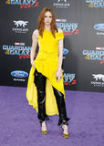 Karen Gillan. At the Los Angeles premiere of `Guardians Of The Galaxy Vol. 2` held at the Dolby Theatre in Hollywood, USA on April 19, 2017 Royalty Free Stock Photography