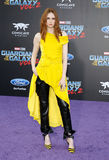 Karen Gillan. At the Los Angeles premiere of `Guardians Of The Galaxy Vol. 2` held at the Dolby Theatre in Hollywood, USA on April 19, 2017 Royalty Free Stock Photo