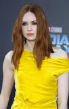 Karen Gillan. At the Los Angeles premiere of `Guardians Of The Galaxy Vol. 2` held at the Dolby Theatre in Hollywood, USA on April 19, 2017 Royalty Free Stock Images
