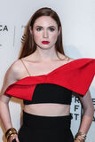 Karen Gillan. NEW YORK, NY - APRIL 26: Karen Gillan attends `The Circle` premiere during the 2017 Tribeca Film Festival at BMCC Tribeca PAC on April 26, 2017 in Royalty Free Stock Image